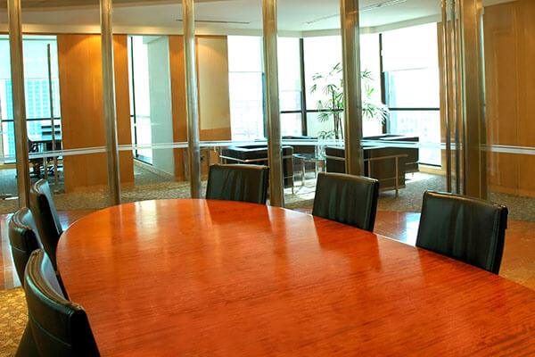 Conference Table Refinishing