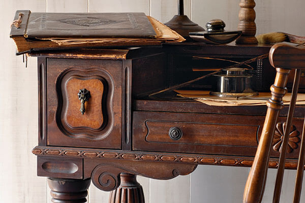 bigstock-Still-life-of-antique-secretar-15025820