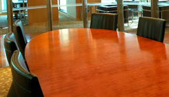 Conference Tables Refinished